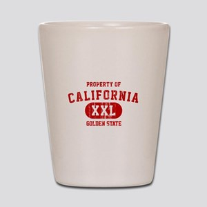 Property of California the Golden State Shot Glass
