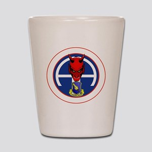 Devil 2-504 v1 - white Shot Glass