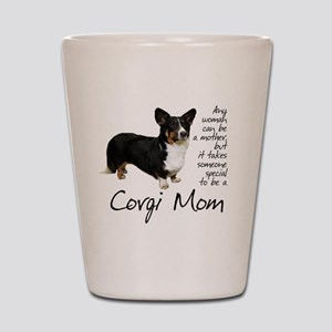 Corgi Mom Shot Glass