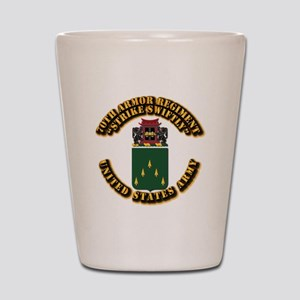 COA - 70th Armor Regiment Shot Glass