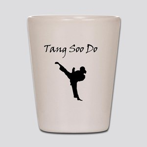 Tang Soo Do Girl Shot Glass