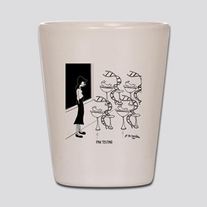 6575_biology_cartoon Shot Glass