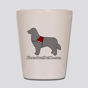 PDPM Dog (Grey) Shot Glass