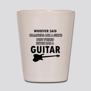 Electric Guitar better than Diamonds Shot Glass