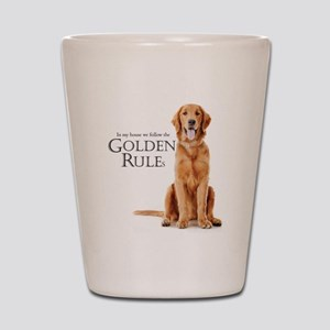 The Golden Rules Shot Glass