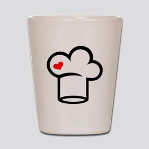 Chef cook Shot Glass