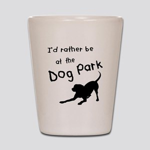 Dog Park Shot Glass