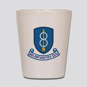 Army-8th-Infantry-Div-13-Bonnie Shot Glass