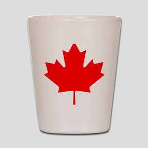 Canada Maple Leaf Shot Glass