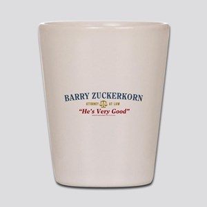 Arrested Development Barry Zuckerkorn Shot Glass