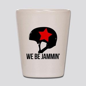 jammin copy Shot Glass