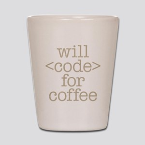 Code For Coffee Shot Glass