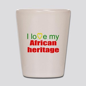 I love Africa Shot Glass