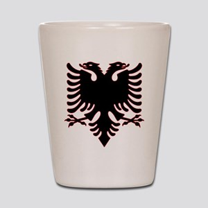 Albanian Eagle Shot Glass