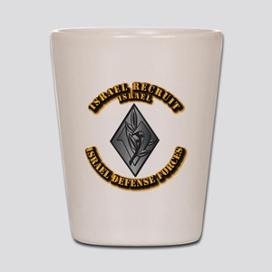 Israel - Obsolete Recruit Hat Badge Shot Glass