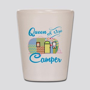Queen of the Camper Shot Glass