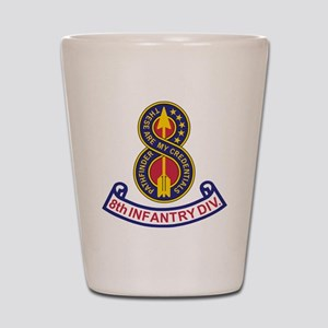 3-Army-8th-Infantry-Div-5-Bonnie Shot Glass