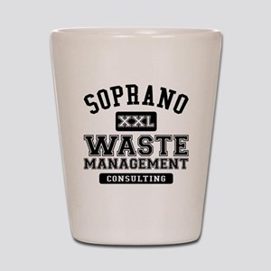 Soprano Waste Management Shot Glass