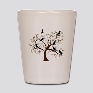 Ravens Tree Shot Glass