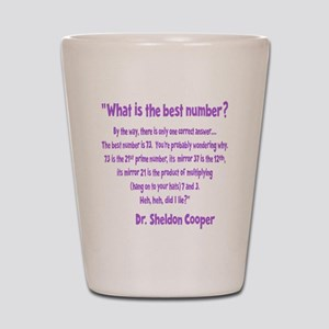 wh-lavendar, 73-quote overlapped Shot Glass