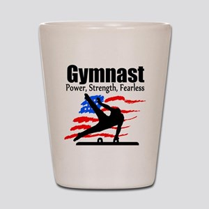 ALL AROUND GYMNAST Shot Glass
