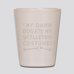 Skelleton Costume Shot Glass