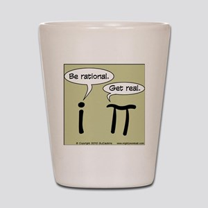 pi vs i Shot Glass