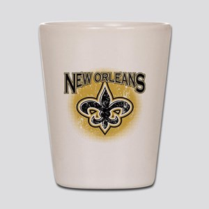 New Orleans Team Shot Glass