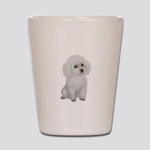 Poodle (MinW2) Shot Glass