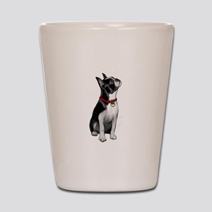Boston Terrier #3 Shot Glass
