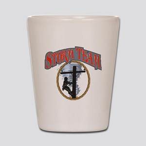 2011 Tornado Storm front Cafe Press Shot Glass