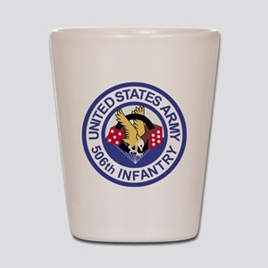 Army-506th-Infantry-Roundel-Paradice Shot Glass