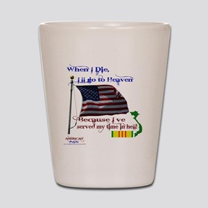 When I Die... Vietnam Shot Glass