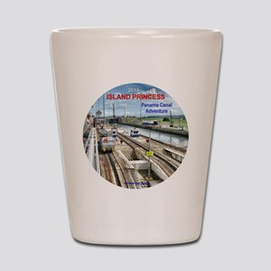 Panama Canal Adventure- Island Princess Shot Glass