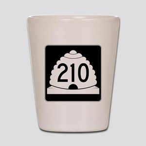 Powder Highway - Utah S.R. 210 - Alta S Shot Glass