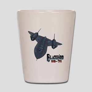 Blackbird-10 Shot Glass