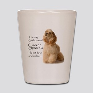 Cocker Spaniel Shot Glass