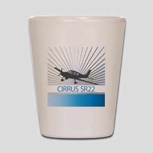 Aircraft Cirrus SR22 Shot Glass