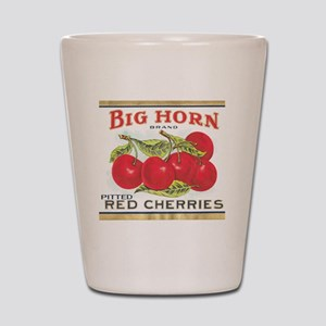 BIG HORN CHERRIES Shot Glass