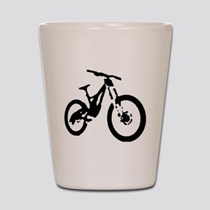 Mountain Bike Shot Glass