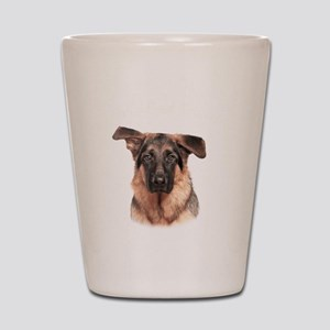 Mans Best Friend Shot Glass