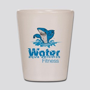 Tommy Mac Aqua Aerobics Water Fitness Shot Glass