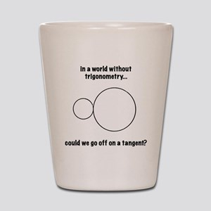 trigonometry Shot Glass