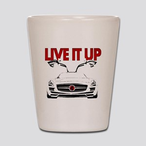 SLS AMG Supercar LIVE IT UP Shot Glass