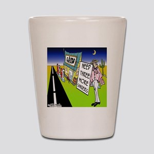 7603_quartet_cartoon Shot Glass