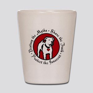 Response-a-Bull Rescue Logo Shot Glass