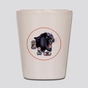 Panther v2_3rd-505th-White Shot Glass