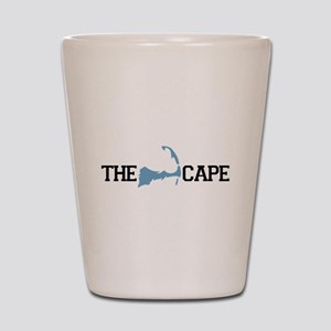 The Cape MA - Map Design Shot Glass