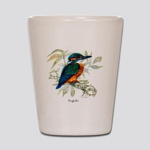 Kingfisher Peter Bere Design Shot Glass