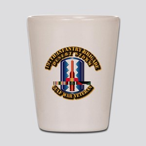 Army - DS - 197th IN Bde Shot Glass